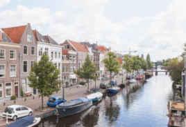 Wonen aan de Oude Rijn in Leiden