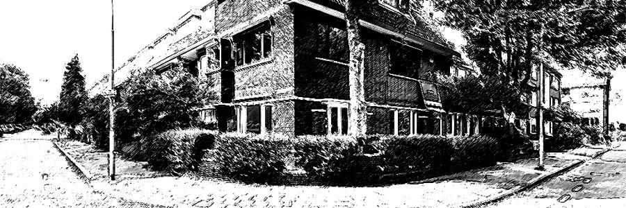 Dubbel bovenhuis nabij de Koningin Wilhelminalaan in Voorburg