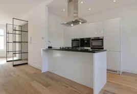Keukeneiland met barblad