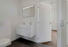 Toilet in badkamer