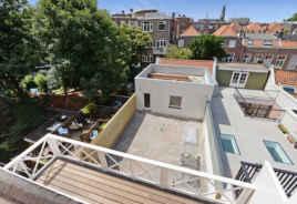 Uitzicht over de daken