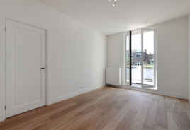 Openslaande deuren in slaapkamer
